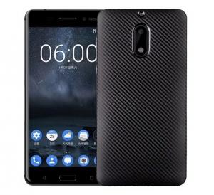 Husa Nokia 6 i-Zore Carbon, Negru