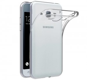 Husa Samsung Galaxy J1 (2016) TPU Slim, Transparent