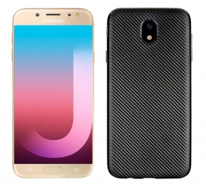 Husa Samsung Galaxy J7 (2017) i-Zore Carbon, Negru