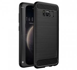 Husa Samsung Galaxy S8 Plus iPaky Fiber, Negru