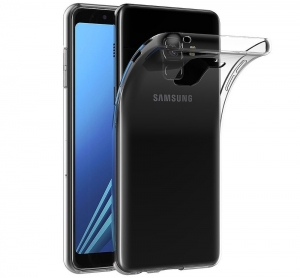 Husa TPU Slim Samsung Galaxy A8 (2018), Transparent