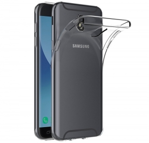 Husa TPU Slim Samsung Galaxy J7 (2017), Transparent