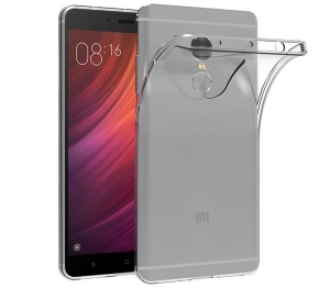 Husa TPU Slim Xiaomi Redmi Note 4, Transparent