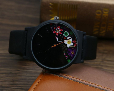 Ceas de dama model floral