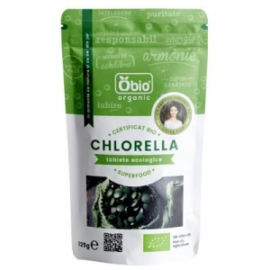 Chlorella tablete bio 250 buc