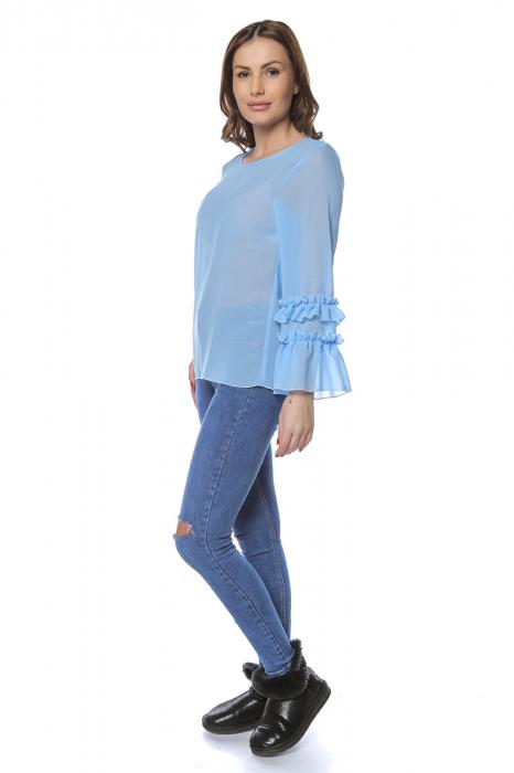 Bluza dama din vascoza Blue B124