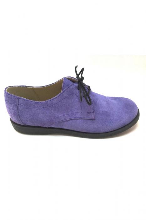 Pantofi din piele intoarsa Pax Lila