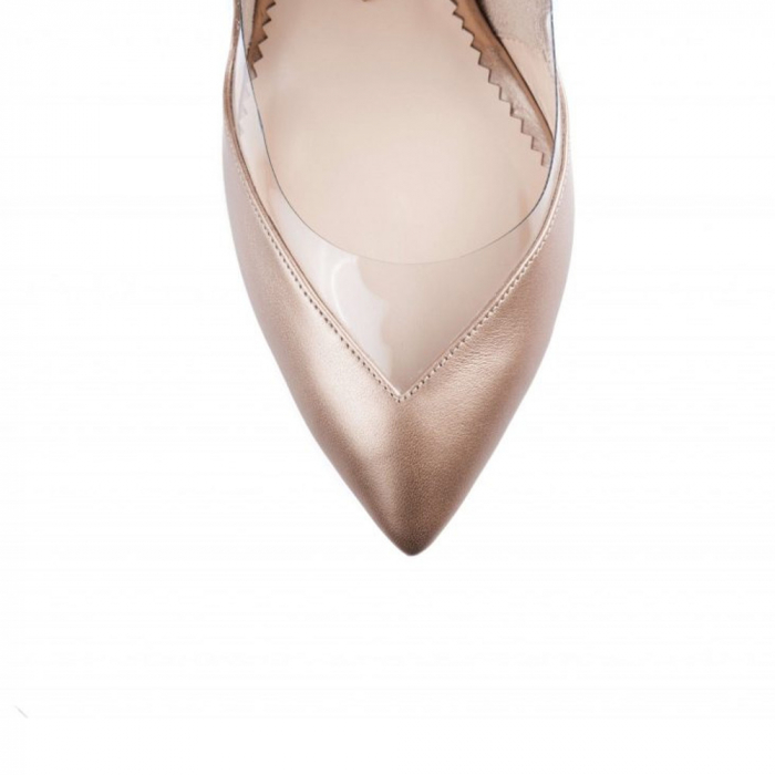Pantofi Mihai Albu Bouquet Pearl