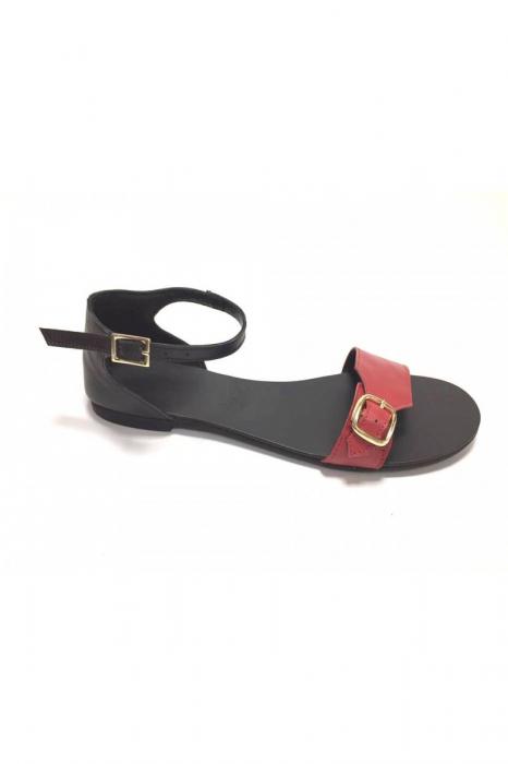 Sandale de dama din piele Ada Red