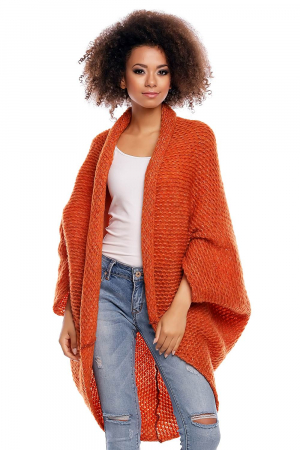 Cardigan din mohair Orange