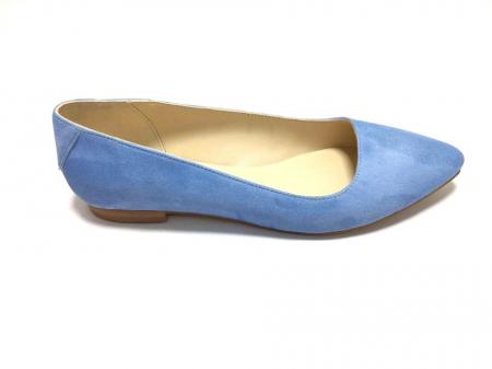Balerini din piele Blue Velvet CoraN