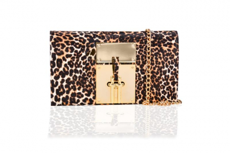 Clutch Mihai Albu Animal Print