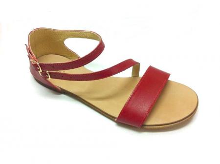 Sandale dama din piele Red Anna