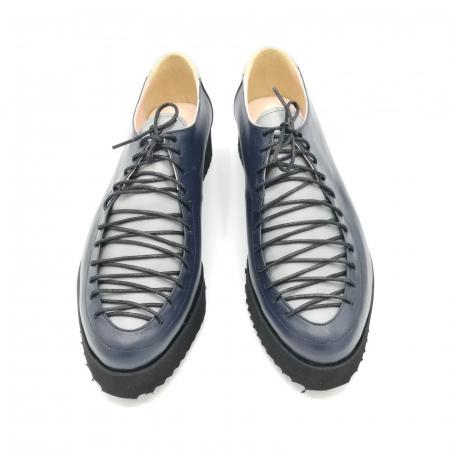 Pantofi dama tip Oxford Blue Laces