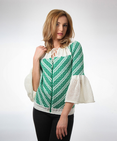 IE tricotata cu maneci clopot Onibon