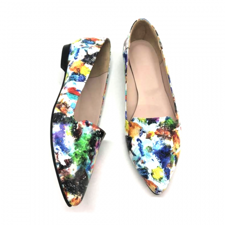 Loafers dama din piele naturala Painted Merry