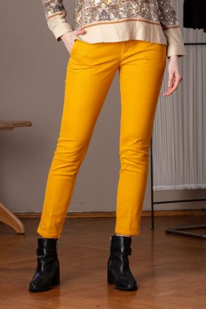 Pantaloni casual galbeni Lallux