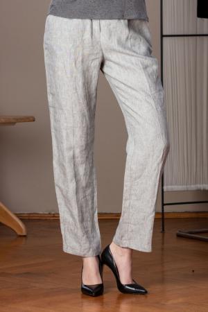 Pantaloni lungi lejeri din in Linia