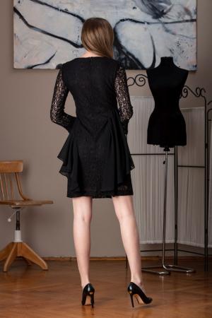 Rochie eleganta din dantela neagra Limiam