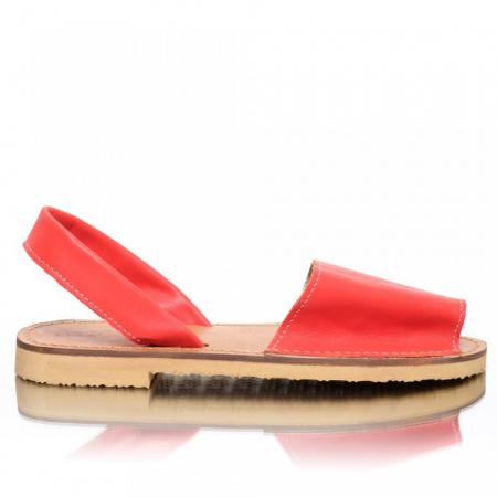 Sandale dama tip Avarca Rosu
