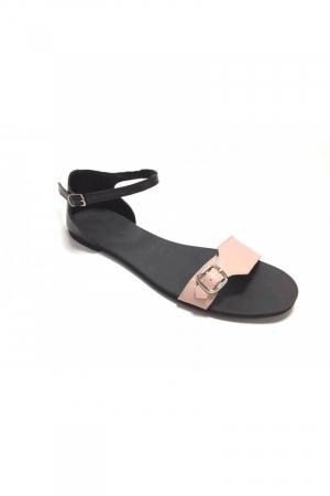 Sandale de dama din piele Ada Nude