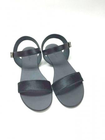Sandale de dama din piele Black Pony Fanny