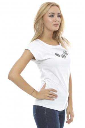 Tricou dama broderie traditionala B90