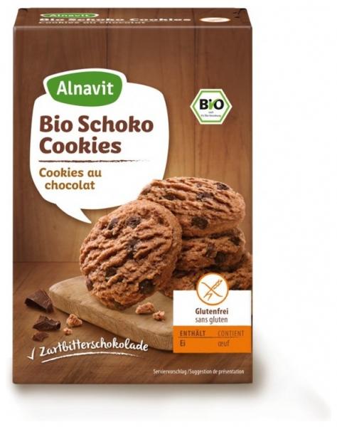 Biscuiti BIO cu Ciocolata fara faina de grau, fara gluten 125 gr