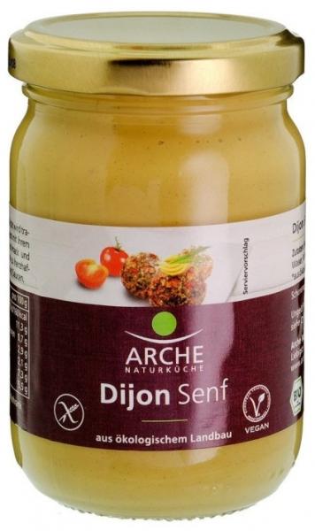 Mustar Dijon, bio, 200 ml