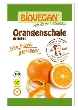 Coaja de portocala Bio rasa, 9 g