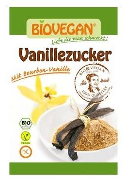 Zahar vanilat Bio, 8 g