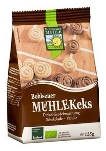 Bohlsener Mühle – Covrigei BIO dulci cu ciocolata si vanilie, 125g