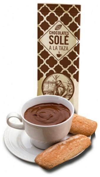Ciocolata calda Neagra Autentica Chocolates Sole Barcelona 200gr