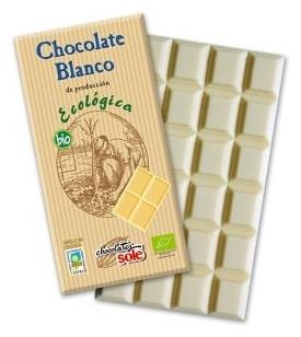 Ciocolata alba BIO Chocolates Sole, 100 g