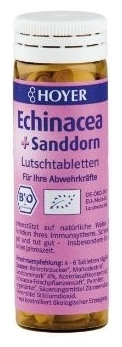 Hoyer – Echinaceea si catina - Tablete masticabile Bio, 60 tablete