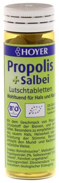 Propolis si salvie - Tablete Bio de supt, 60 de Tablete