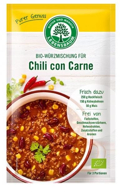 Amestec BIO de condimente pentru Chili con Carne, 30g