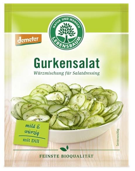 Amestec BIO de condimente pentru salata de castraveti, 3x5g