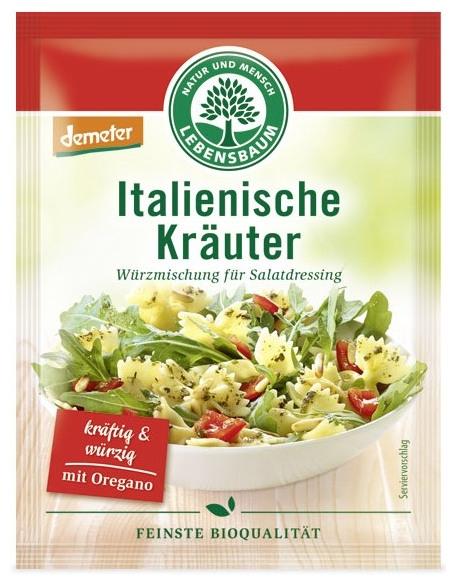 Amestec BIO de condimente pentru salata italiana, 3x5g