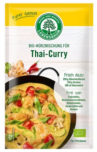 Amestec BIO de condimente pentru Thai-Curry, 23g