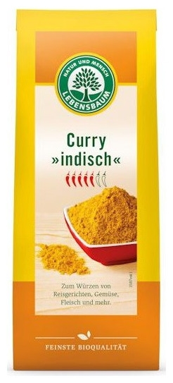 Curry indian BIO, 50g
