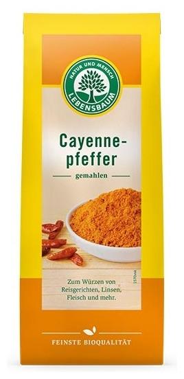 Piper bio Cayenne macinat, 50g