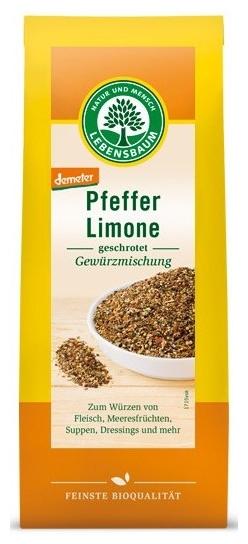 Piper Lime - amestec de condimente maruntite, BIO 60g