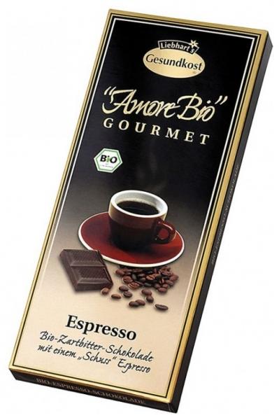Ciocolata amaruie Espresso, 55% cacao, 100 g