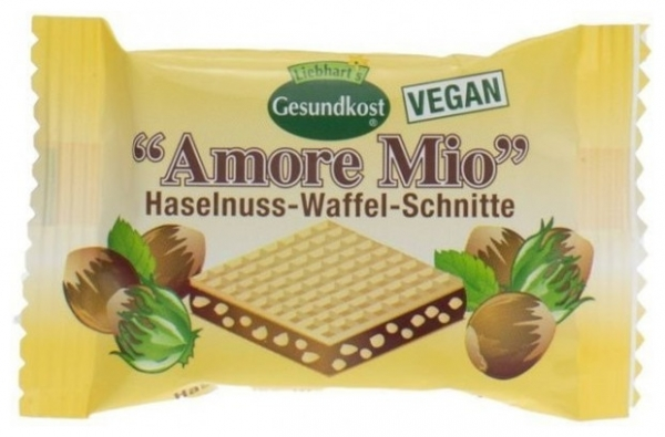 LIEBHART'S AMORE MIO – Specialitate de napolitane cu alune, 19 g