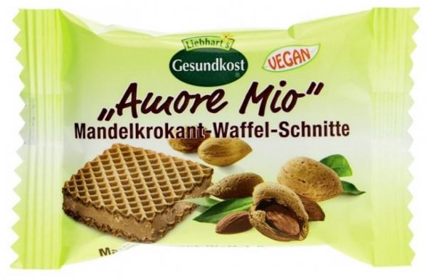 LIEBHART'S AMORE MIO – Specialitate de napolitane cu migdale crocante, 19 g