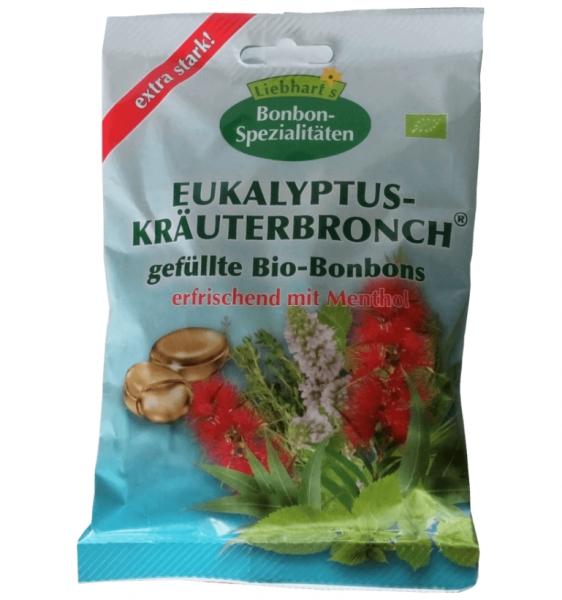 Dropsuri BIO cu eucalipt si plante, 100g