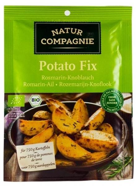 Amestec de condimente BIO cu rozmarin si usturoi pentru cartofi, 35g