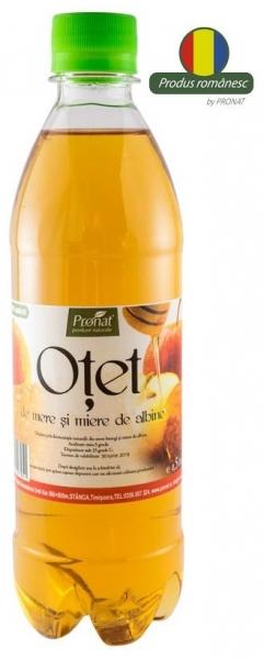 Otet de mere si miere de albine, 0.5 l