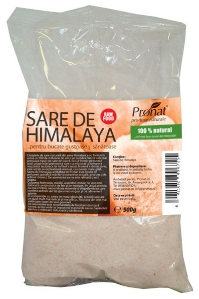 Sare de Himalaya de masa, 500 g